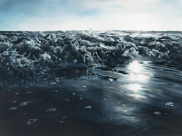 Asylum Art — Pastel Icebergs by Zaria Forman Zaria Forman...